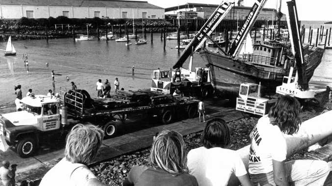 Were you at the old boat harbour the day the Taiwanese fishing vessel that had been seized off Mackay was brought ashore in 1977? Known as The Junk, it became a City Gates landmark and was Mackay's tourist information centre for many years. Comment online or email us at news@dailymercury.com.au with your memories and photos.