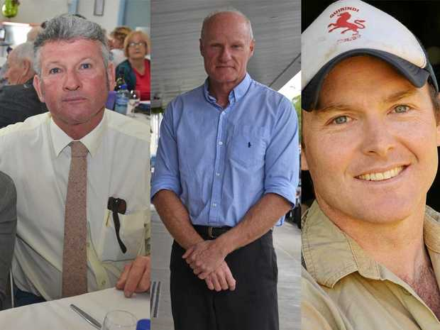 Tenterfield mayor Peter Petty, vice president of the Lismore Chamber of Commerce and Industry Andrew Gordon and Tregeagle farmer Austin Curtin are the three candidates to be voted on at the Nationals community preselection in November.