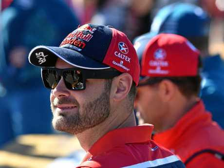 Shane van Gisbergen of the Red Bull Holden Racing team.