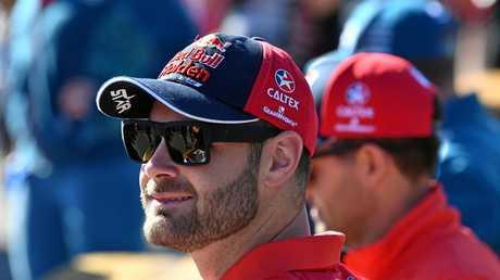 Shane van Gisbergen of the Red Bull Holden Racing team.
