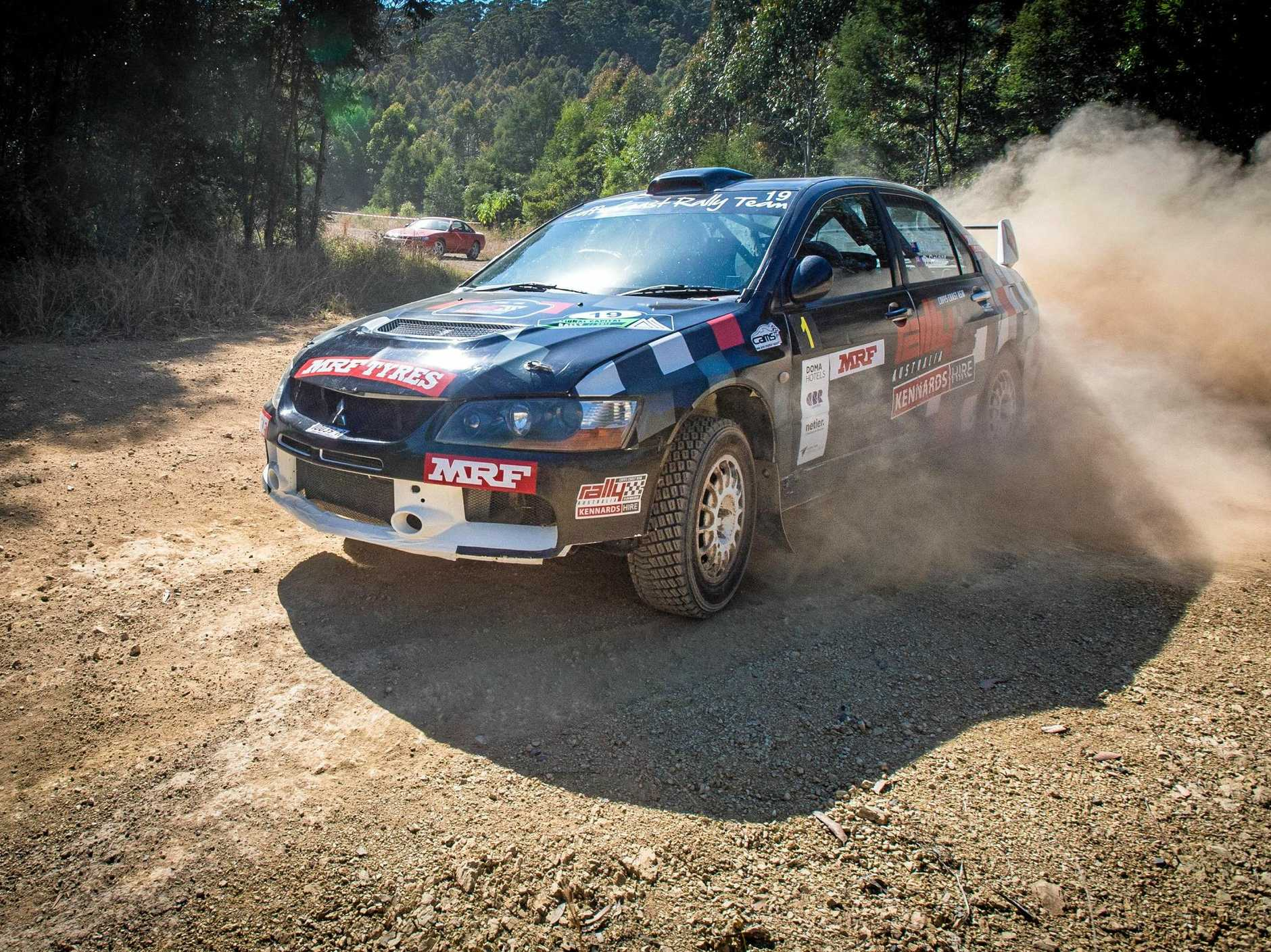 Coffs Harbour driver Nathan Quinn will be chasing the Australian Rally Championship title at the Kennards Hire Rally Australia being held on the Coffs Coast from Noveber 16 to 19.