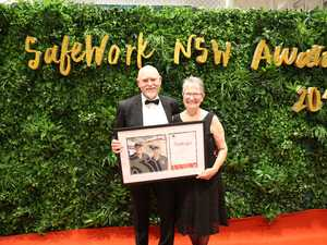 Asbestos award highlights work of exceptional couple