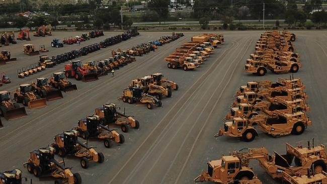 Ritchie Bros auction yard will play host to 2,000 bidders today