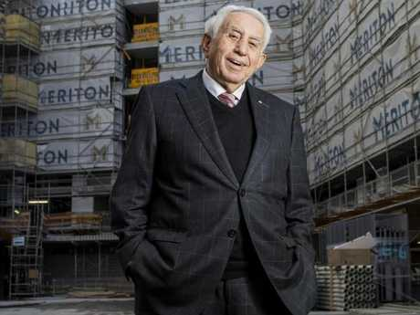 Billionaire Harry Triguboff was second with $12.8 billion.