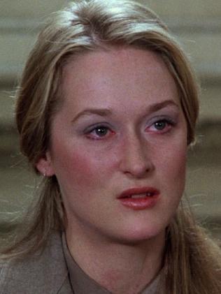 Dustin Hoffman slapped Meryl Streep to improve her acting in Kramer vs Kramer.  Picture:  Supplied