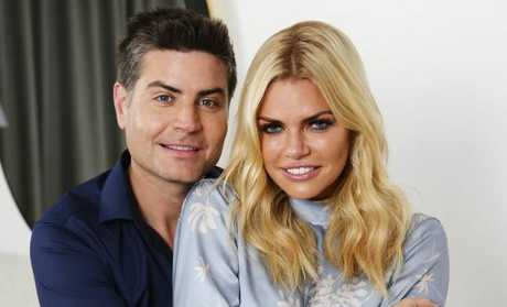 Sophie Monk and Bachelorette winner Stu Laundy have had their relationship questioned. Picture: Justin Lloyd