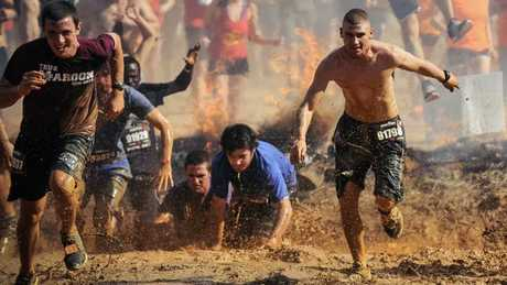 The Spartan Race is the basis for Channel 7's new fitness show Australian Spartan.