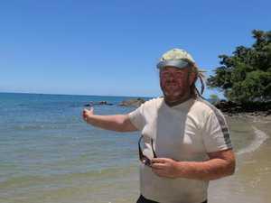 "Fisherman's croc terror: ""He was swimming quite fast"""