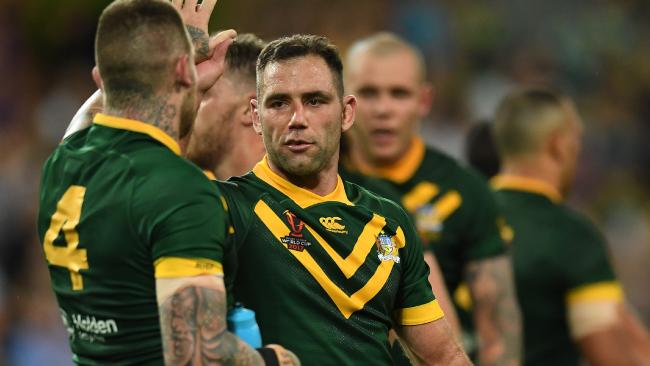 Cameron Smith will surpass Clive Churchill's Test record.