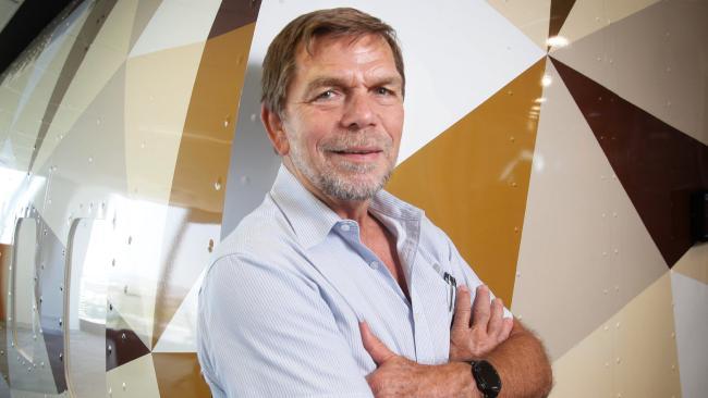 "Flight Centre founder Graham ""Skroo"" Turner's $998 million puts him in reach of the billionaires. Picture: Steve Pohlner"