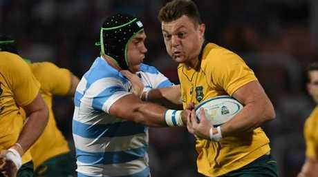 The Wallabies beat Los Pumas in the 2015 World Cup semis.