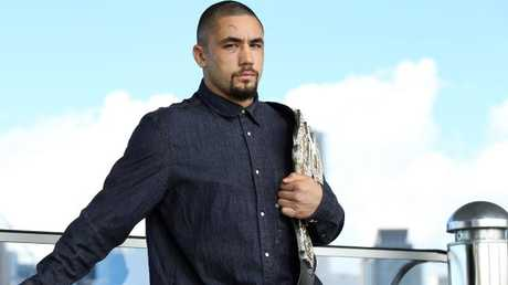 UFC champion Robert Whittaker. Picture: Richard Dobson