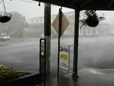 Wild storms lash Herberton on the Atherton Tableland.