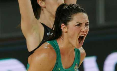 Layton had time away from netball following the Super Netball season. Pic: George Salpigtidis