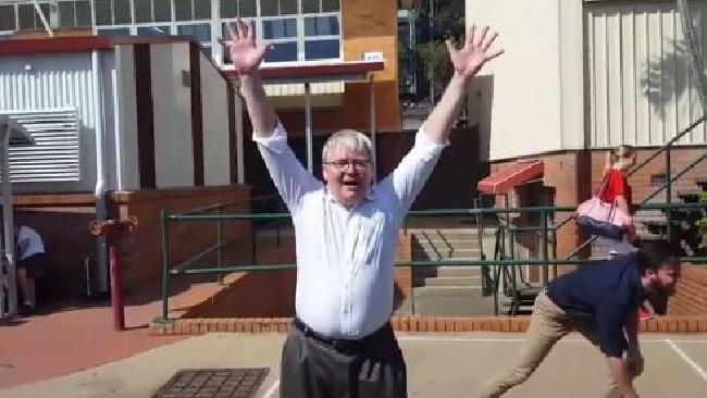 The Goat Rudd Proves He S Still King Of Handball Northern Star