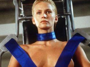 Natasha Henstridge in scene from film Species II.  Picture:  Supplied