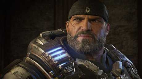 Gears of War 4 features greater resolution on the Xbox One X enhanced version.