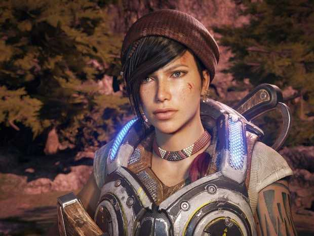 Gears of War 4 looks sensational in 4K on the Xbox One X console.