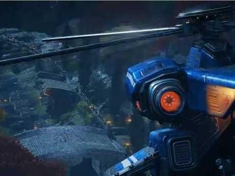 A scene from Gears of War 4.