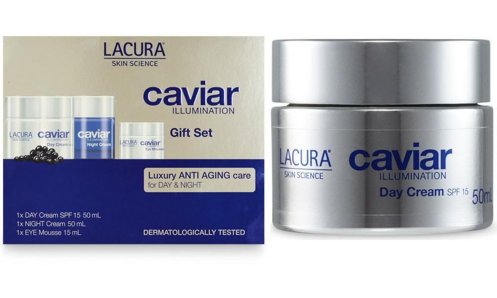 The day cream rivals La Prairie Skin Caviar Luxe Cream but comes as a fraction of the price. Source: ALDI