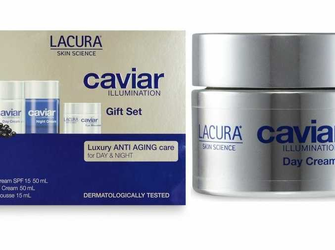 The day cream rivals La Prairie Skin Caviar Luxe Cream but comes as a fraction of the price. Source: ALDI