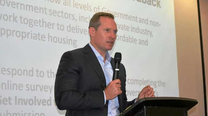 POLICY SUPPORT: Minister for Housing and Public Works Mick de Brenni.