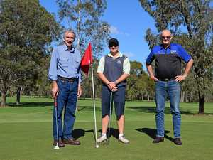 Rotary host charity golf day