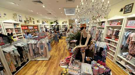 Peter Alexander store in Stockland Rockhampton.