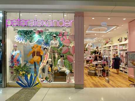 Peter Alexander store in Stockland Rockhampton.