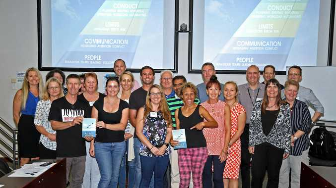 Clinicians and participants attend the first ever Advanced Emergency Performance Training (ADEPT) held in Lismore last weekend.