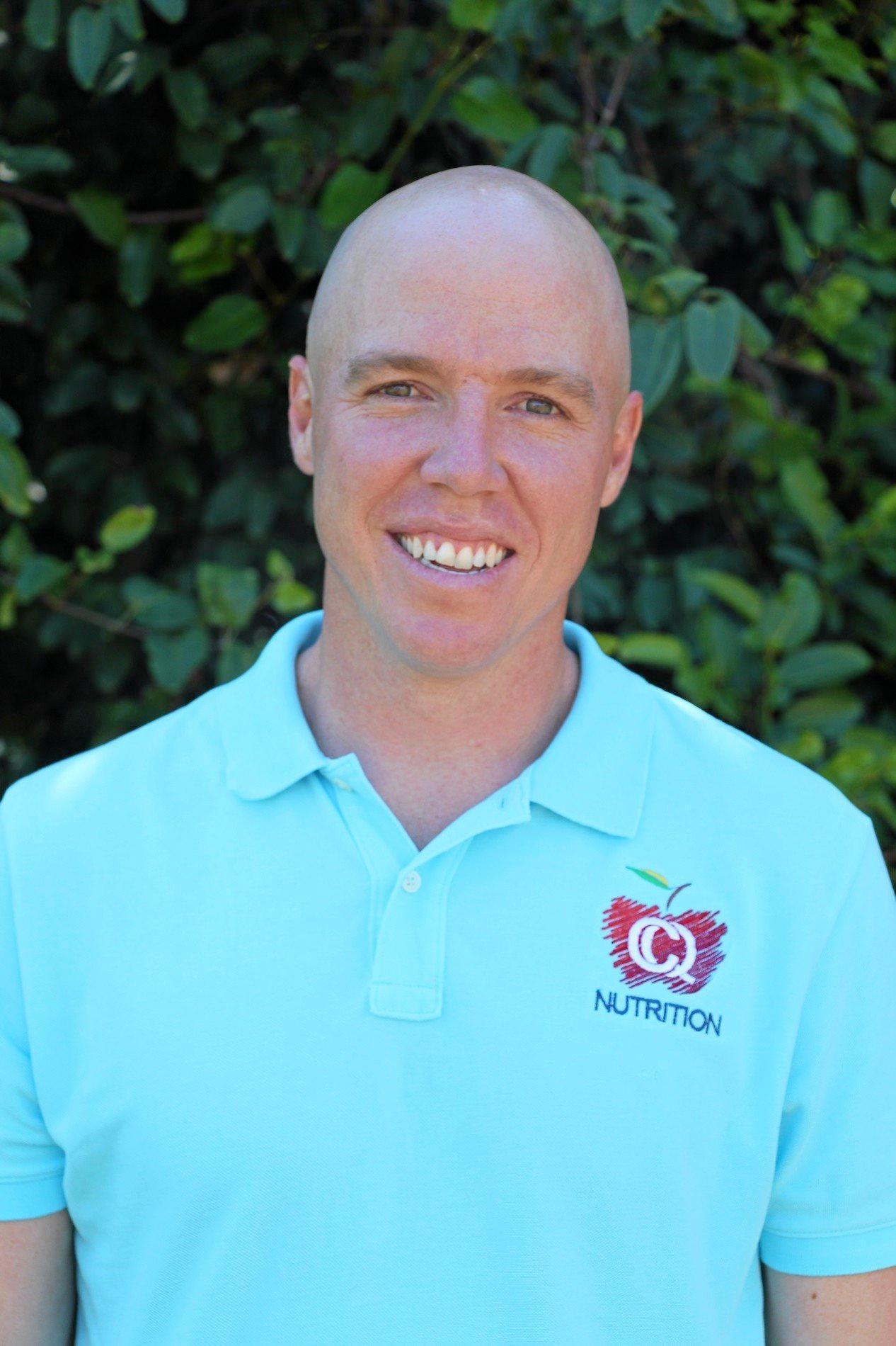 CQ Nutrition Dietitian Chris Hughes.