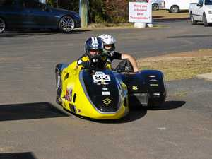Double delight as sidecars feature at Morgan Park Raceway