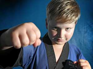 Gympie's karate kid returns a world champion