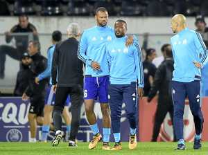 Evra sent off before game for kicking Marseille fan