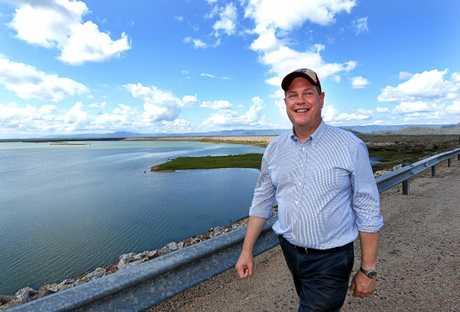 Queensland LNP leader Tim Nicholls is planning more dams for Queensland.