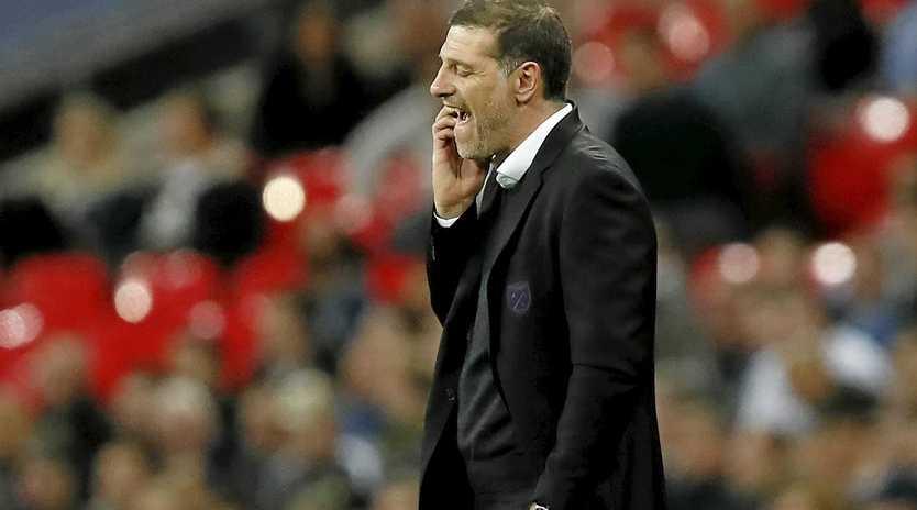 West Ham's manager Slaven Bilic is under pressure to get results.