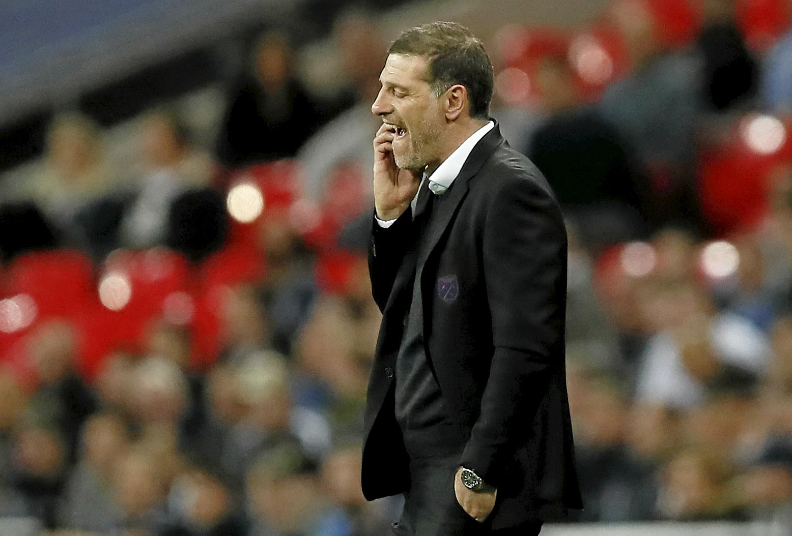 West Ham's manager Slaven Bilic is under pressure to get results.