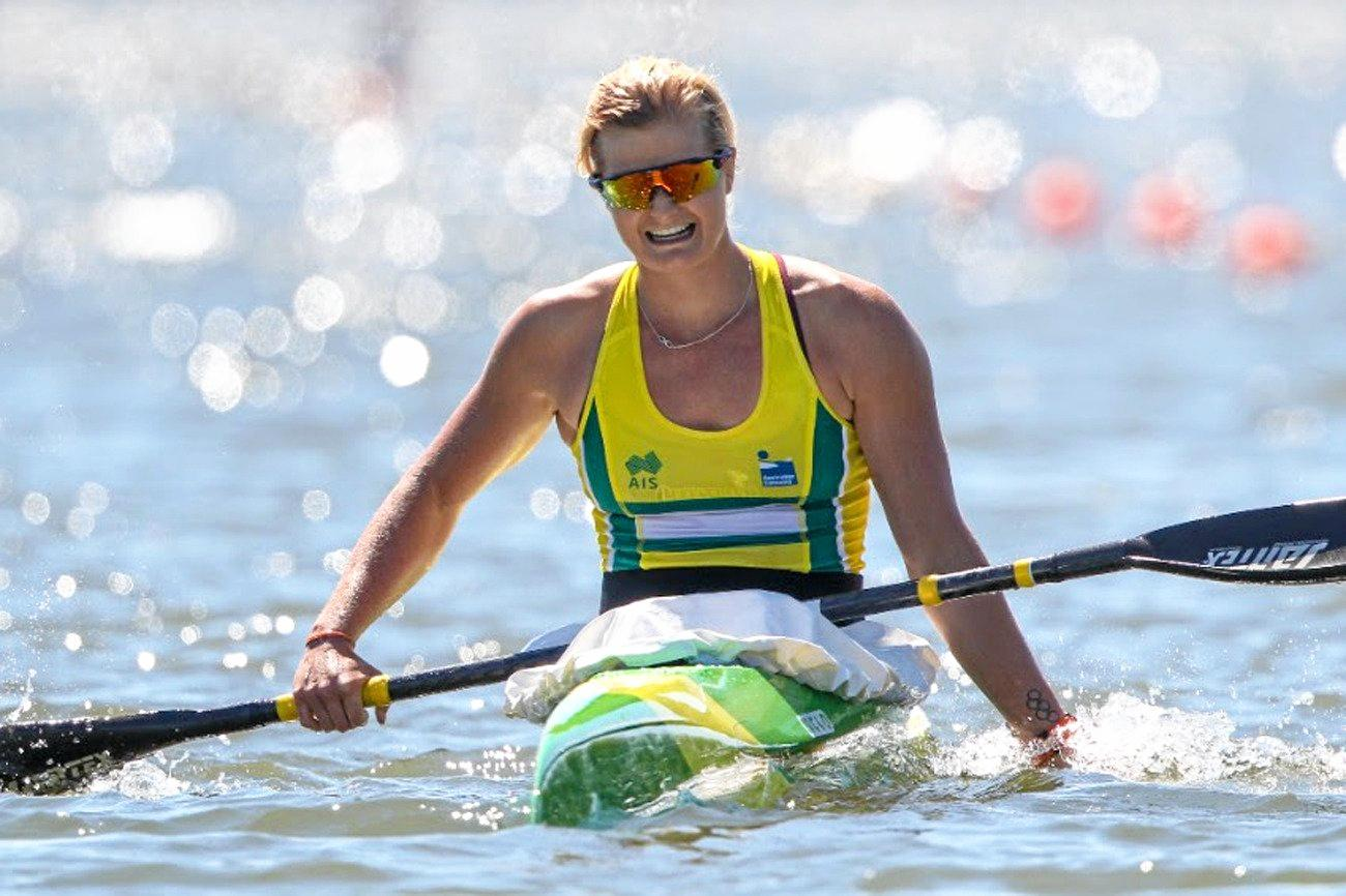 IN CONTENTION: Alyssa Bull who won the U23 K1 1000 Canoe Sprint world title in Pitesti, Romania.