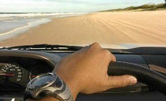 A man caught illegally driving on a popular Capricorn Coast beach has faced the consequences in a Rockhampton Court.