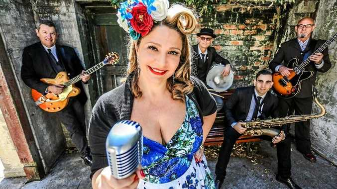 MUSIC MAKERS: Among a huge line-up of artists at this year's Cully Fest are Dezzie D and the Stingrayz.