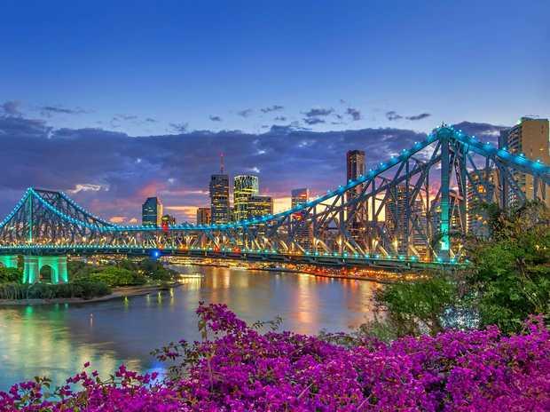 The Story Bridge in Brisbane.
