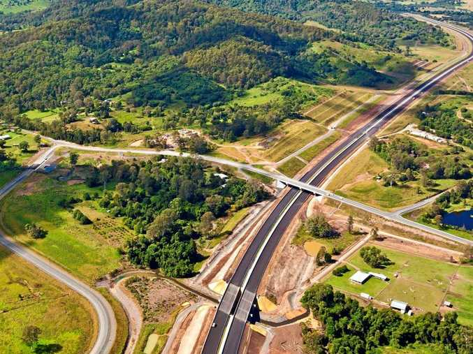 The Cooroy to Curra upgrade will provide a duplicated, safer highway.