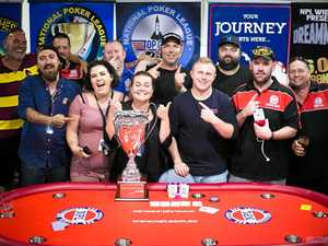 Wide Bay poker players rake in the winnings