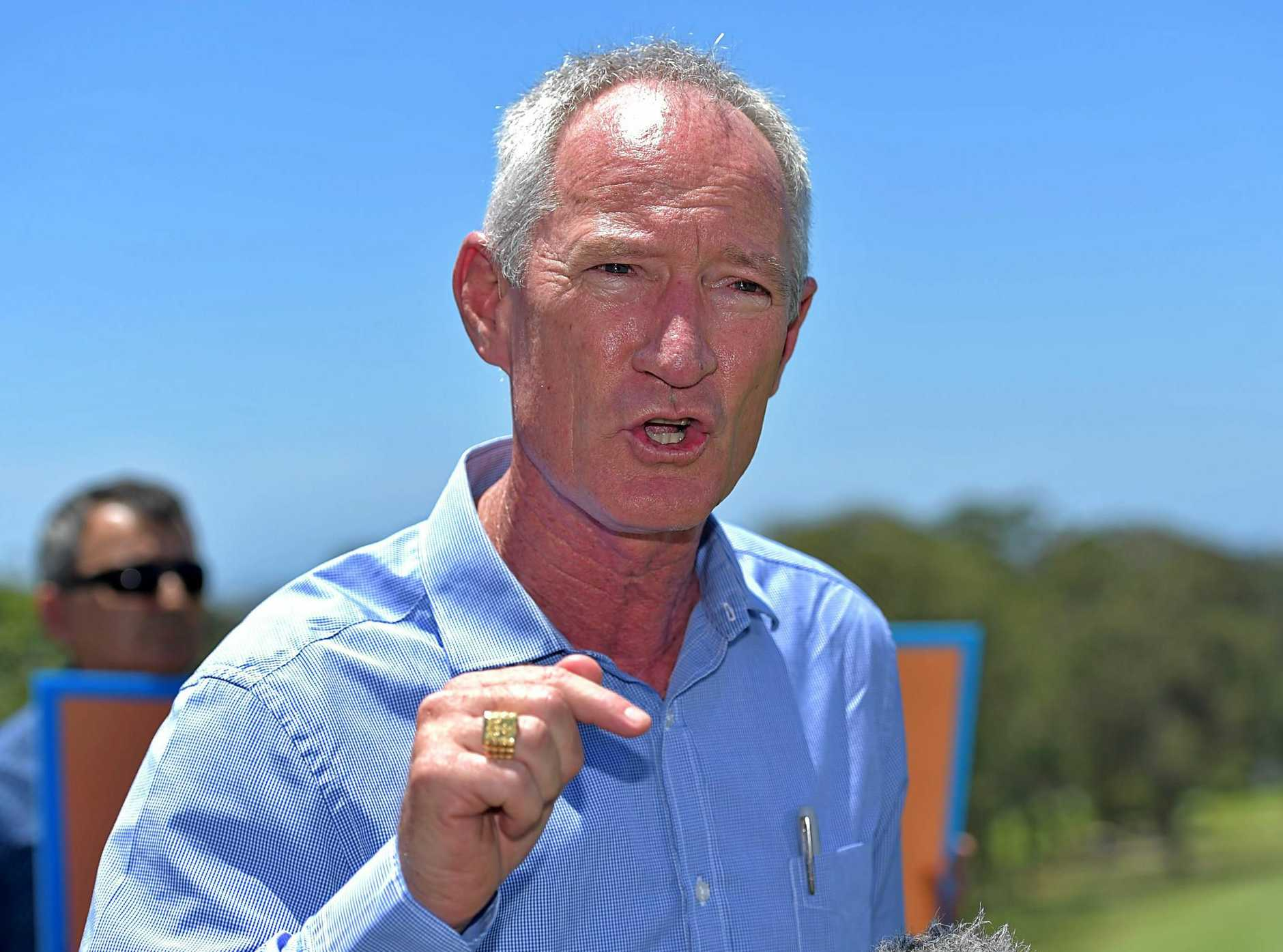 Buderim MP and One Nation convert Steve Dickson is fighting to hold on to his seat in Parliament.