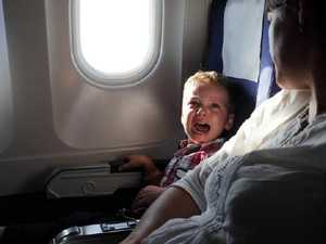 How to occupy bored kids on flight