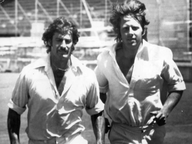 Dennis Lillee and Jeff Thomson brought pace and fire into Ashes conflicts.