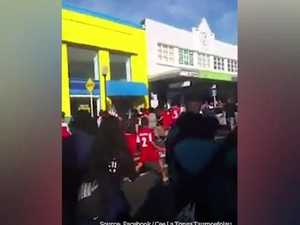 Samoan and Tongan fans brawl ahead of World Cup clash