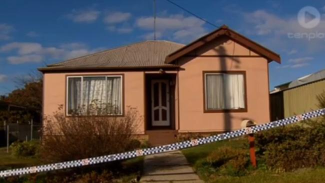 The death house where the mother LN and her de facto took Joseph to earn more welfare money and tortured him. Picture: Channel Ten.