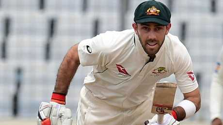 Glenn Maxwell will be hoping to get the nod at No. 6 over Hilton Cartwright. Picture: AFP