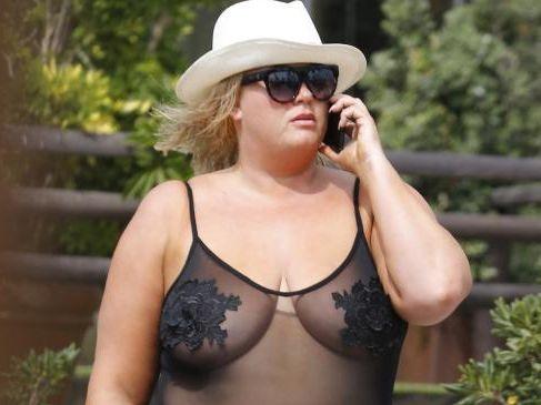Gemma Collins, body positivity icon. Picture: Flynet Pictures/Splash